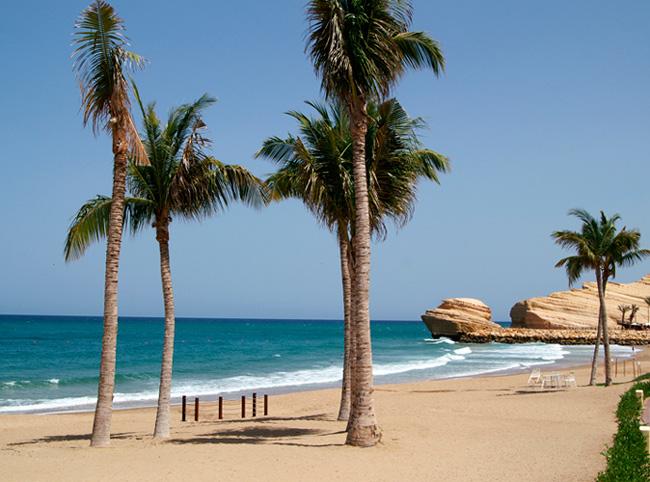 Пляж в ОАЭ