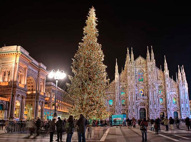 Милан в январе
