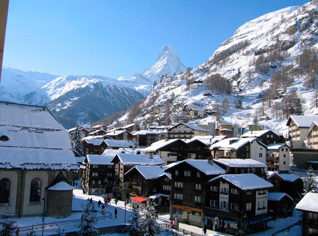Швейцария в январе