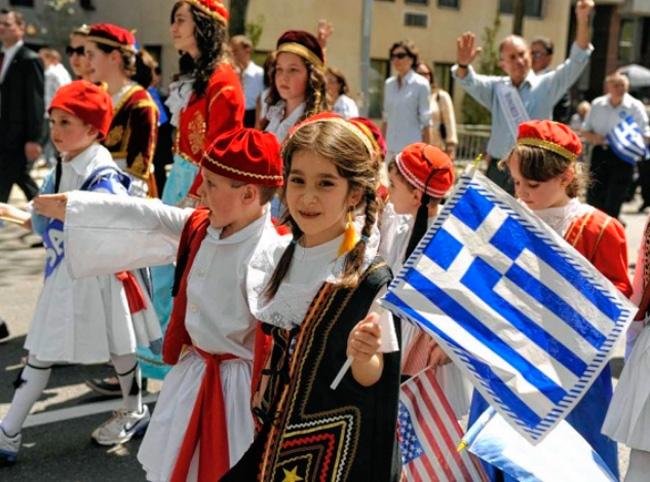 Празднование дня независимости Греции