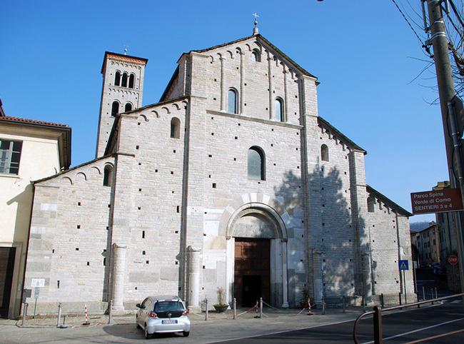 Церковь Сант-Аббондио