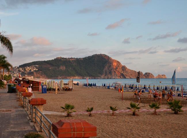 В окрестностях пляжа Клеопатра