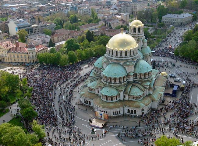 Собор Александра Невского в Софии (Болгария)