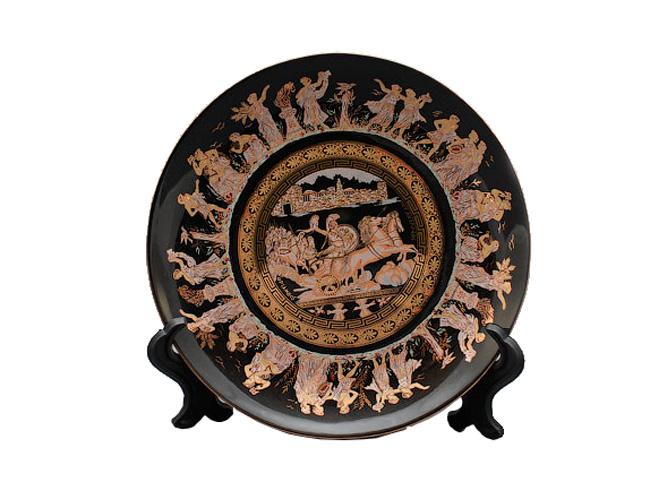 Посуда с греческими мотивами
