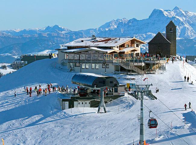 Горнолыжный курорт SkiWelt