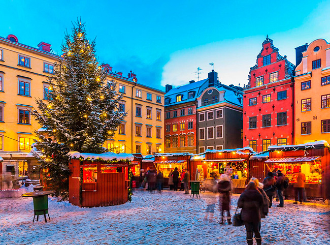 Предновогодние ярмарки в Копенгагене