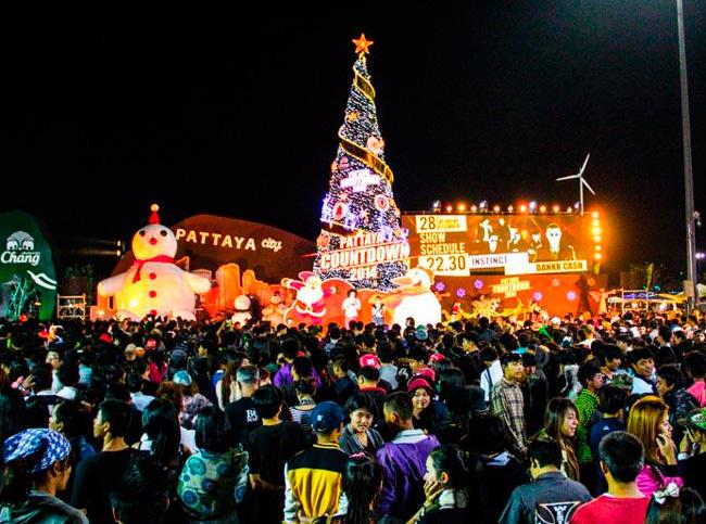 Новогодняя ночь в Патаей