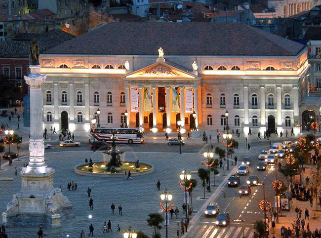 Зима в Лиссабоне