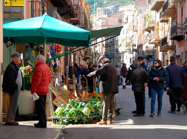 Сицилия в феврале