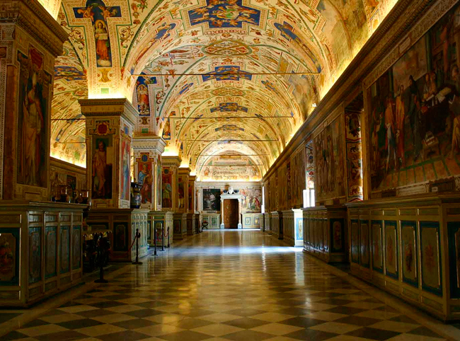 В музее Ватикана