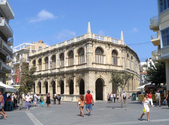 Венецианская лоджия Ираклиона