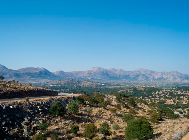 Вид на плато Лассити