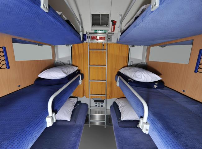 Кушеточный вагон поезда Париж-Берлин