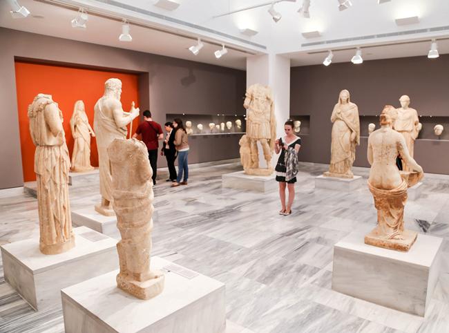 Скульптуры римского периода