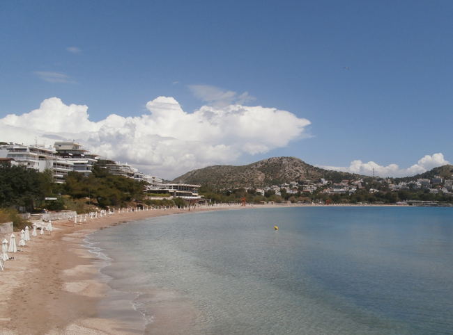 Пляж Акти Вулиагменис